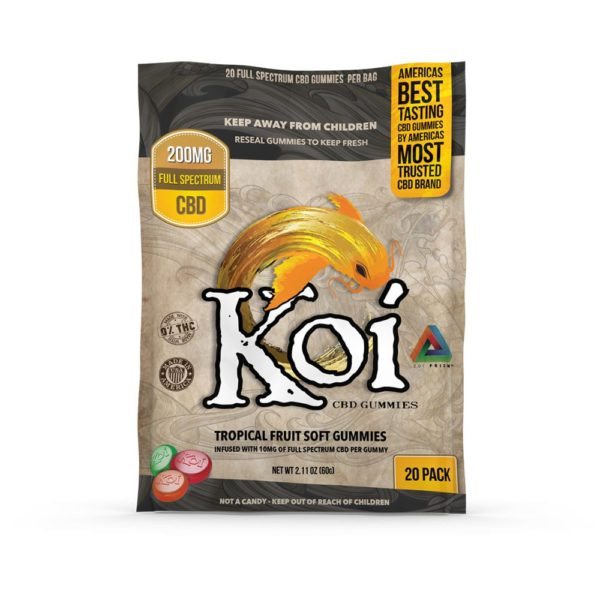 Koi Gummies Regular 20 Piece 200mg