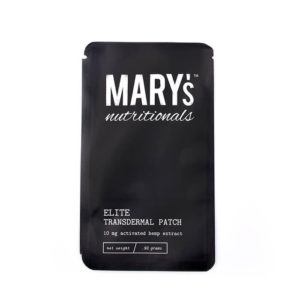 Elite Transdermal Patch (10 MG) hemp extract