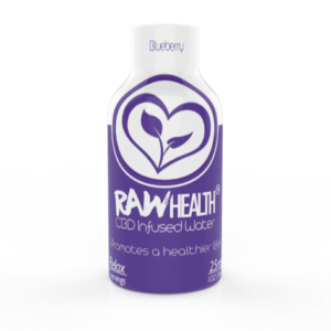 RAW Health Blueberry Infused Water CBD