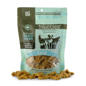 Treatibles Small Blueberry Grain Free Hard Chews 1mg EASE