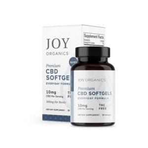 Joy Organics CBD Softgels 10mg 30 Count