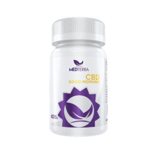 MedTerra CBD Good Morning Capsules 25mg 60ct