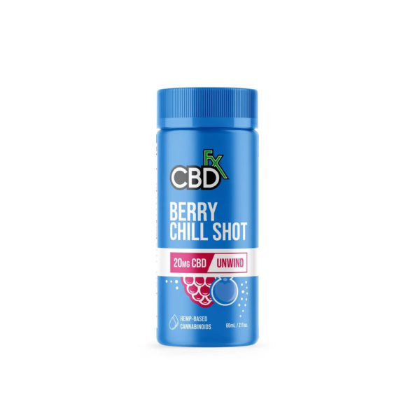 CBDfx Berry Chill Shot 2oz. - 200mg