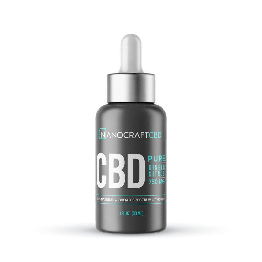 NanoCraft CBD™ - CBD Oil PURE Formula - Ginger Citrus