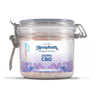 Harmony Hemp Himalayan Bath Salts - 250mg