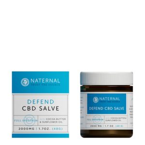 Naternal Full Spectrum CBD Salve 2000mg 2oz