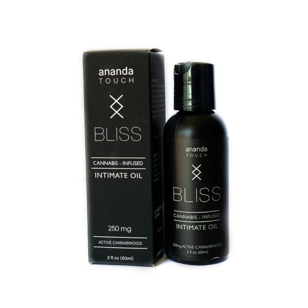 Ananda Touch Bliss Intimate Oil w Box 600x600 - Ananda Touch Bliss Intimate Oil 250mg CBD