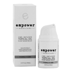 Empower Topical Relief Oil Pump 15ml