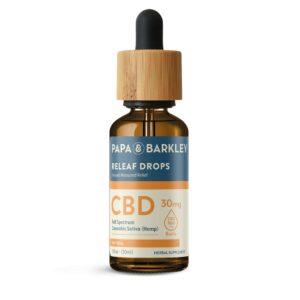 Papa & Barkley CBD Hemp Infused Drops - Natural 30ml 900mg