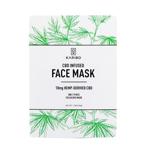KARIBO CBD Infused Face Mask 600x600 - KARIBO CBD Infused Face Mask
