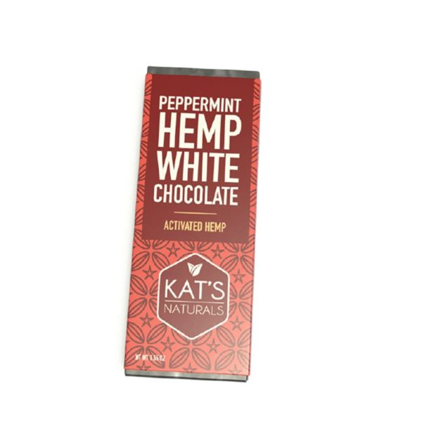 Kat's Naturals Activated Hemp White Chocolate