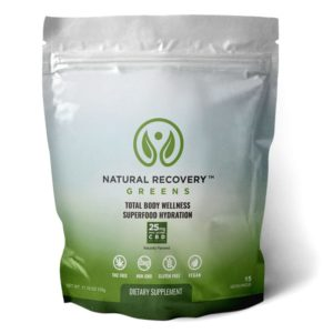 Natural Recovery Greens 15 Serving Bag