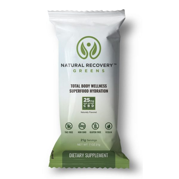 Natural Recovery Greens Single Serve Packet 600x600 - Natural Recovery Greens Single Serve Packet