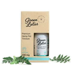 Green Lotus™ CBD Tincture Oil for Pets - Natural 100mg