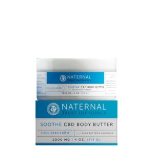 Naternal Soothe Body Butter 2000mg 4oz