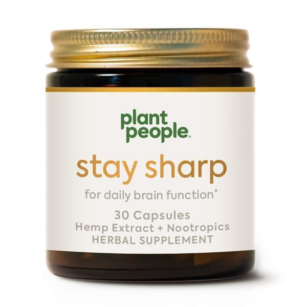 Plant People Stay Sharp CBD Capsules 30 Count 600x600 - Plant People Stay Sharp CBD Capsules 30 Count
