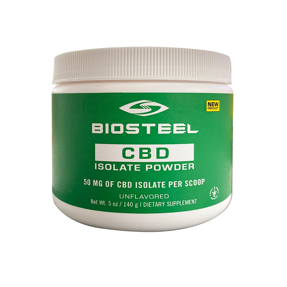 BioSteel CBD Isolate Powder Unflavored 1000mg