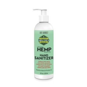 Uncle Bud's Hand Sanitizer with 70 percent Ethanol 8oz