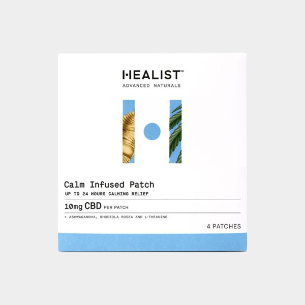 Healist CBD Calm Infused Patch 10mg 4 Count 600x600 - Healist CBD Calm Infused Patch 10mg 4 Count