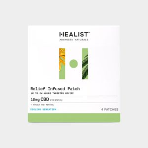 Healist CBD Relief Infused Patch 10mg 4 Count