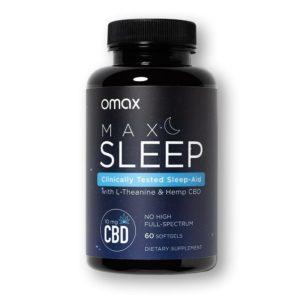 Omax MAX SLEEP 300mg 60 Count