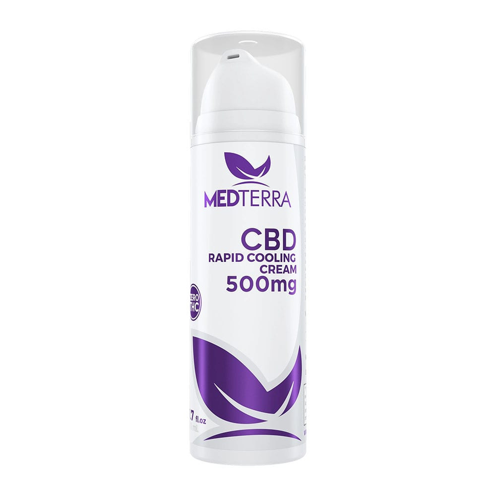 Medterra CBD Rapid Cooling Cream 50ml 500mg