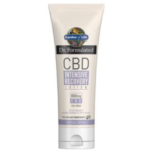 Dr. Formulated CBD Intensive Recovery 800mg Lotion