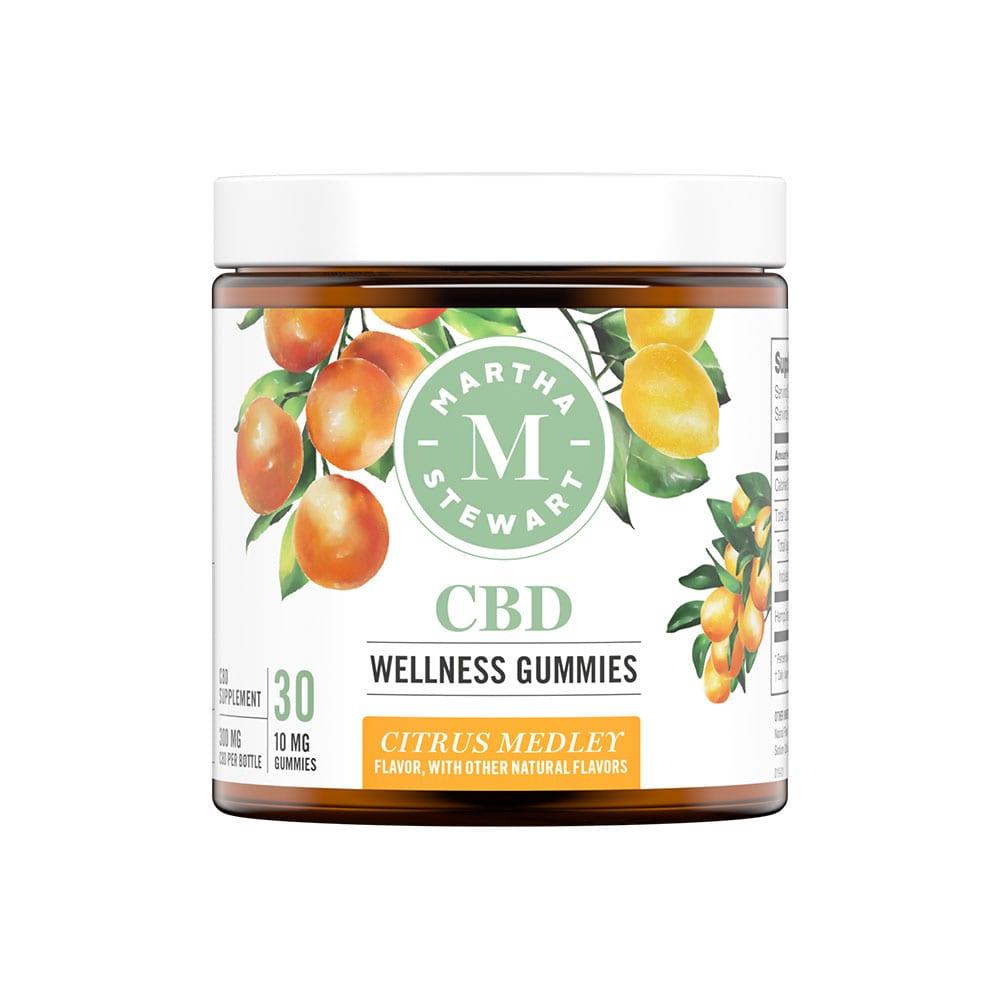 Martha Stewart CBD Gummies - Citrus Medley 10mg 30 Pack