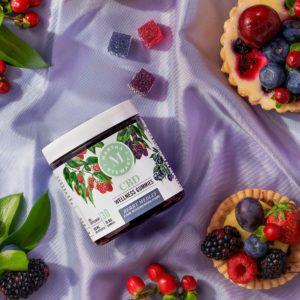 Martha Stewart CBD Gummies - Berry Medley 10mg 30 Count Lifestyle