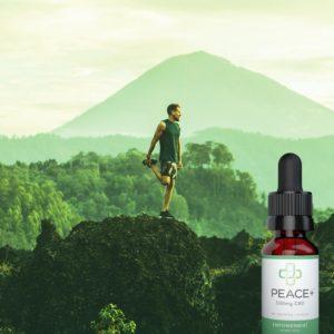 Peace Plus CBD Tincture Oil Empowermint Sweet Mint 500mg 15ml Lifestyle