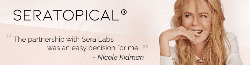 Sera Labs Seratopicals products - endorsed by Nicole Kidman